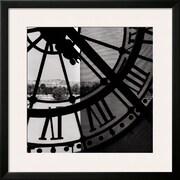 Art 'Clock Musee d'Orsay I' 28 x 28 (10213223)