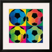 Art 'Ball Four: Soccer' 24 x 24 (10215296)