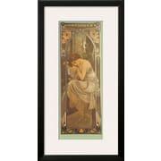 Art Alphonse Mucha 'Repos de la Nuit' 32 x 17 (10216015)