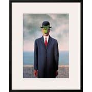 Art Rene Magritte 'Le Fils de L'Homme (Son of Man)' 39 x 31 (10646380)