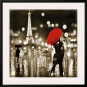 Art Kate Carrigan 'A Paris Kiss' 35 x 35 (10646693)