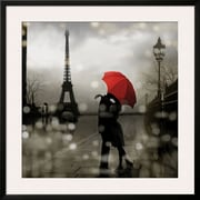 Art.com Kate Carrigan 'Paris Romance'  35 x 35 (10646694)