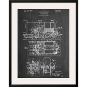 Art 'Steam Locomotive Patent' 33 x 26 (10691398)