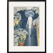 Art.com Katsushika Hokusai 'Amida Waterfall on the Kiso Highway'  29 x 21 (11952184)