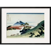 Art Katsushika Hokusai '36 Views of Mount Fuji, no. 9: Inume Pass in the Kai Province' 21 x 29 (12098240)