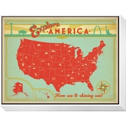Art Anderson Design Group 'Explore America: From Sea To Shining Sea' 13 x 17 (12591379)