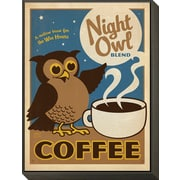 Art Anderson Design Group 'Night Owl Blend Coffee' 18 x 16 (12591499)