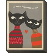 Art Anderson Design Group 'Cats Purrfect Pair' 17 x 13 (12591500)