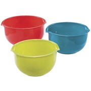 KitchenWorthy 3 Piece Mixing Bowl Set