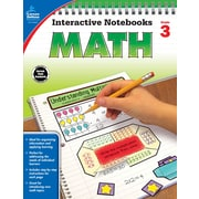 Interactive Notebooks Math Grade 3 Resource Book Paperback (104648)