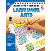 Interactive Notebooks Language Arts Grade 5 Resource Book Paperback (104656)