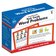 Carson-Dellosa Task Cards: Word Problems Grade 1 Learning Cards (140101)