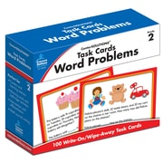 Carson-Dellosa Task Cards: Word Problems Grade 2 Learning Cards (140102)