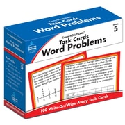 Carson-Dellosa Task Cards: Word Problems Grade 5 Learning Cards (140105)