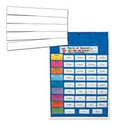 Carson Dellosa Cross-Curricular Original Blue Pocket Chart with Sentence Strips PK-8 (144204)