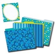 Carson-Dellosa Bubbly Blues Multi-Color Office Decor Set (144933)