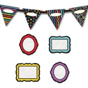 Carson-Dellosa Colorful Chalkboard Decor Set (144942)