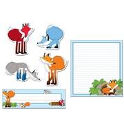 Carson-Dellosa Playful Foxes Classroom Refresh Set (144946)