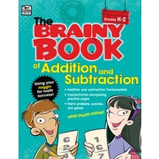 Brainy Book of Addition and Subtraction Grades K-2 Workbook Paperback (704665)