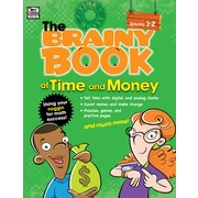 Brainy Book of Time and Money Grades 1-2 Workbook Paperback (704667)
