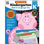 Discover Kindergarten Workbook Paperback (704889)