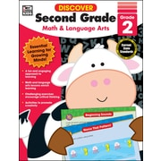 Discover Second Grade Workbook Paperback (704891)
