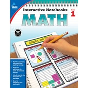 Interactive Notebooks Math Grade 1 Resource Book Paperback(104646)