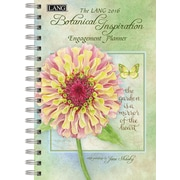 LANG 2016 Botanical Inspiration 6.25in x 9in Spiral Engagement Planner (1011082)