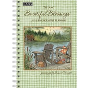 2016 LANG Bountiful Blessings™ 6.25x9 Engagement Planner - Spiral (1011083)