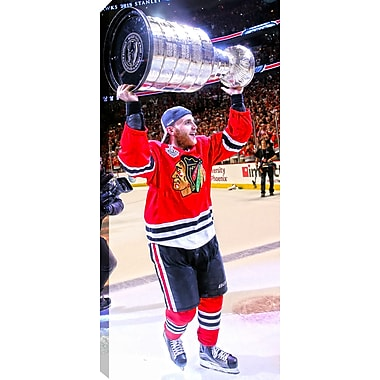 2015 Stanley Cup Chicago Blackhawks Patrick Kane Canvas, 14