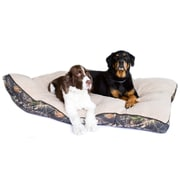 "Danazoo Pet Bed, 40"" x 48"", Mossy Oak with Beige Top"