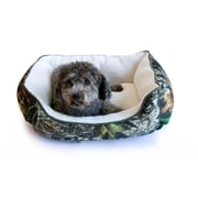 "Danazoo Pet Cuddler, 24"" x 18"", Mossy Oak with White Sherpa Interior"