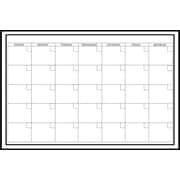 "Wall Pops Dry Erase Large Monthly Calendar, 36"" x 24"""