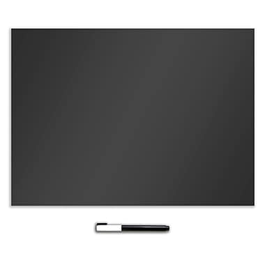 Wall Pops Dry Erase Message Board, Black