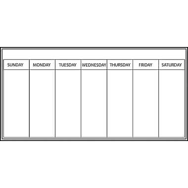 Wall Pops Dry Erase Weekly Planner