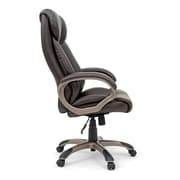 Sauder Gruga Deluxe High-Back Leather Executive Chair