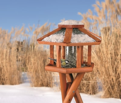 Trixie Deluxe Gazebo Hopper Bird Feeder (WYF078276987330) photo