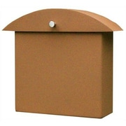 HouseArt Monet Wall Mounted Mailbox; Terra Rust