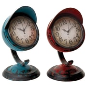 Woodland Imports Table Clock (Set of 2)