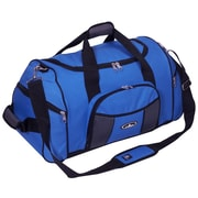 Everest 24'' Deluxe Sports Travel Duffel; Royal Blue/Gray