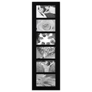 AdecoTrading 6 Opening Wood Wall Hanging Picture Frame