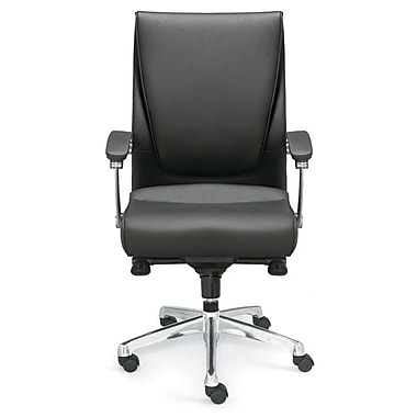 Valo Luxo Leather Executive Chair; Black
