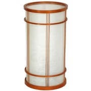 Oriental Furniture Shibuya Japanese Shoji 14.25'' H Table Lamp with Drum Shade