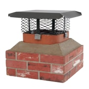 HY-C Mesh Shelter Adjustable Series Chimney Cap; 9.25'' H x 24.5'' W x 19.5'' D