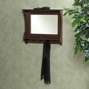 Wildon Home   Belmeade Entry Mirror in Espresso