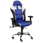 Pit Stop Furniture Racing Style 18'' Office Chair; Navy