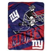 Northwest Co. NFL NY Giants Deep Slant Micro Raschel Throw