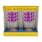 Boelter Brands Beatles Yellow Submarine Love 2 Piece Collectible Pint Glass Set