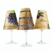 di Potter 4.5'' Tuscany Paper Wine Glass Lamp Shade (Set of 6)