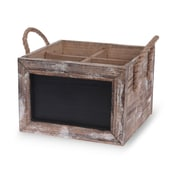 Boston International Wine Carrier Chalkboard Box